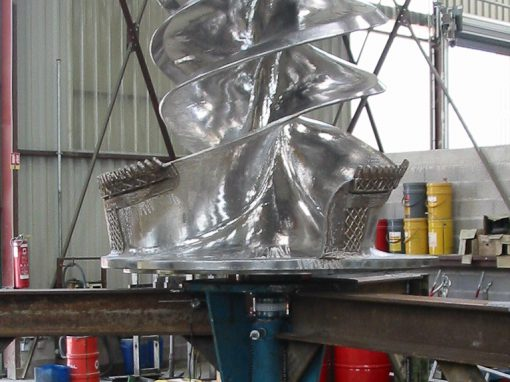 Rotor sur Equilibreuse verticale